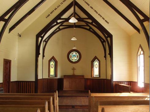 Chapel of Rest, interior